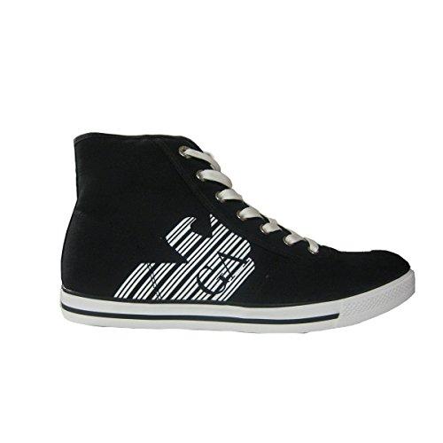 2880296P29906935 Armani Emporio Sneakers Hombre Tejido Azul negro