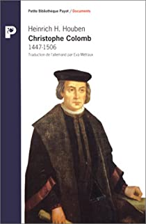 Christophe Colomb : 1447-1506 par Houben