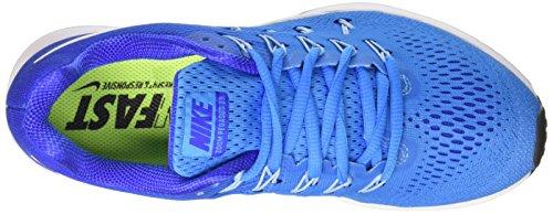 Nike Damen Air Zoom Pegasus 33 Blaues Glühen / Racer Blau / Bluecap / Weiß