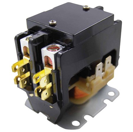 Amp 240v Coil (Universal Packard Aftermarket Replacement Contactor - 40 Amp , 2 Pole , 240 Volt Coil)