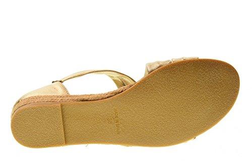 Woman 40101 Shoes Valleverde Platino Sandals Platinum A5UwqSwx