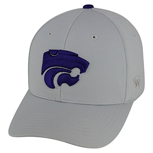 - Top of the World Kansas State Wildcats Official NCAA One Fit Impact Hat 057446