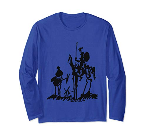 Don Quixote painting drawing Picasso shirt Long Sleeve - Quixote Paintings Don
