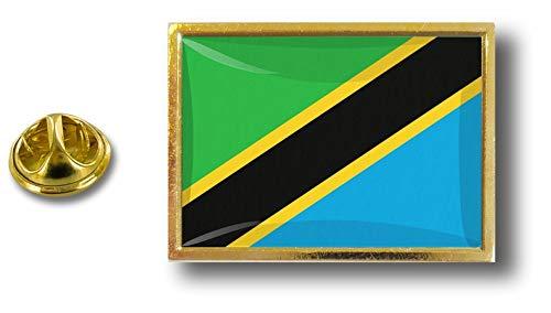 de el Perno la de lengua con de Akacha clip la Tanzania metal del de insignia alfiler Tanzania de alfileres los rO1Ow