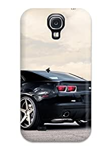 Excellent Design Ss Black Car Phone Case For Galaxy S4 Premium Tpu Case