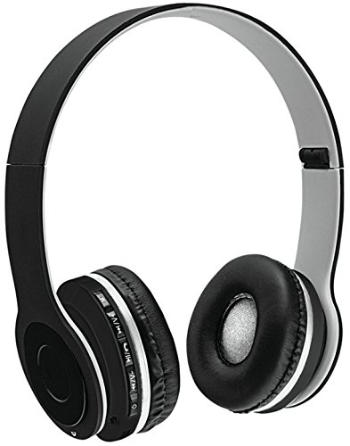 26d6aa5be46 Amazon.com : Sentry Bluetooth Headphones with Microphone - Gray : Camera &  Photo