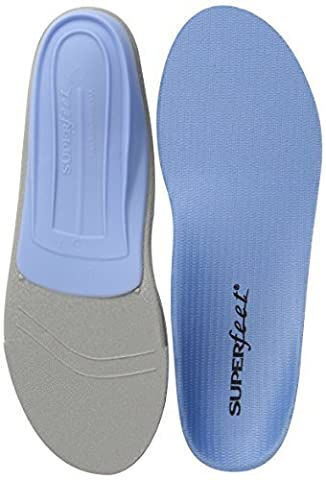 Superfeet Blue Premium Insoles - E (UK 8 - 9.5) by Superfeet (Superfeet Blue Premium)