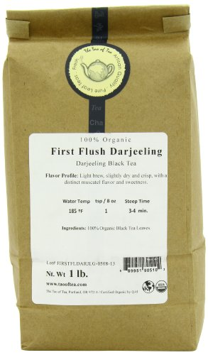 The Tao of Tea First Flush Darjeeling Tea, 1 Pound