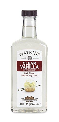 JR Watkins Imitation Clear Vanilla Extract 11 Ounce (Packaging May Vary)