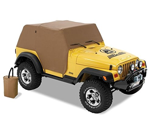 Bestop 81037-37 Spice All Weather Trail Cover for 1997-2006 Wrangler TJ (Except Unlimited) ()
