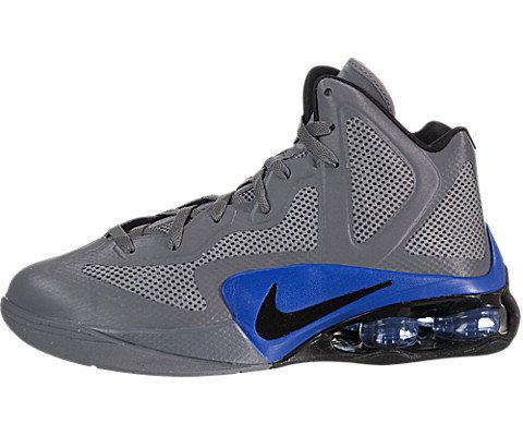 Nike Shox Air - Nike Men's NIKE SHOX AIR HYPERBALLER BASKETBALL SHOES 9 (COOL GREY/BLACK/TREASURE BLUE)