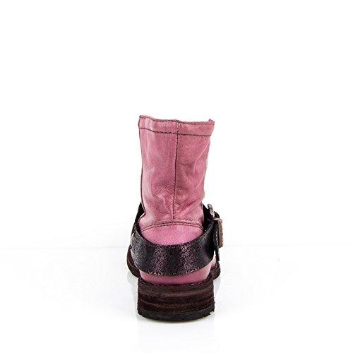 Felmini - Calzature Donna - Innamorarsi com King 8569 - Stivaletti Cowboy & Biker - Vero Pelle - Rosa -