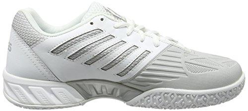 de Bigshot Femme K 153 Omni White Light Swiss Tennis Performance 3 Silver Chaussures Blanc nFwCw06qx