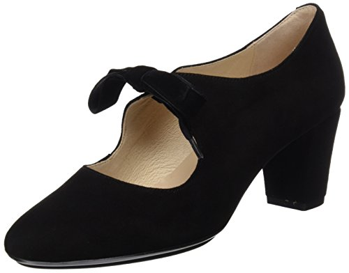 DCHICAS Women's 2624 Closed Toe Heels Black (Black 01) jsFU3q