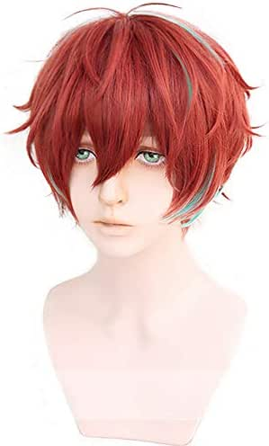 magic acgn Short Cosplay Wig Men boys Party Halloween Wig