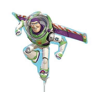 Amazon.com: Toy Story Buzz Lightyear Shaped Mini globos de ...