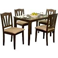 TMS 5 Piece Hamilton Dining Set , Espresso