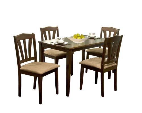 Charming Amazon.com   TMS 5 Piece Hamilton Dining Set, Espresso   Table U0026 Chair Sets