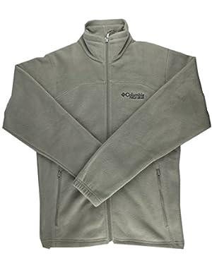 Men's Fleece Jacket Full Zip, Pyramid Peak II