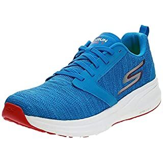 Skechers Mens Go Run Ride 7 Running Shoes Houston Marathon 2019 (7 M US, Royal/Red)