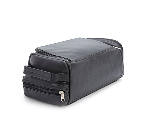 Royce Leather Luxury Travel Golf Shoe Bag Black by Royce Leather (Image #4)