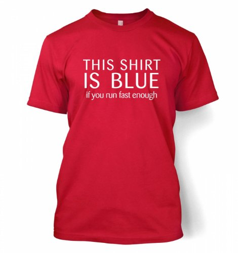 This Shirt Is Blue – Science Geek T-shirt