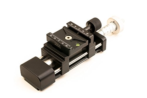 Hejnar Photo 25mm Micrometer Adjusting Macro Rail - Made in U.S.A by Hejnar Photo