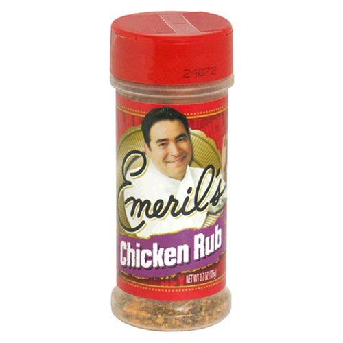 Emeril's Chicken Rub, 3.7-Ounces (Pack of 6)