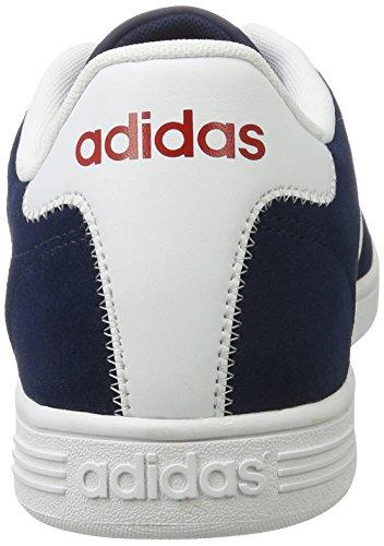 ADIDAS Vlcourt, Zapatillas de Deporte para Hombre Azul (Maruni / Ftwbla / Rojpot)