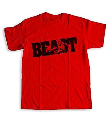 Beast t-shirt BODYBUILDING clothing for men Gym Shirt Kraise Workout fitness
