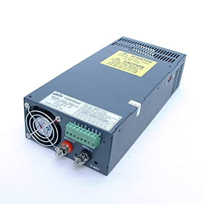 AmpFlow SCN-1000-12 1000W, 80A, 12V DC Power Supply