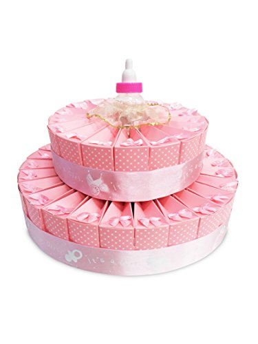 Baby Shower Favor Kits (Baby Shower Party Favors -- It's A Girl Favor Cake)