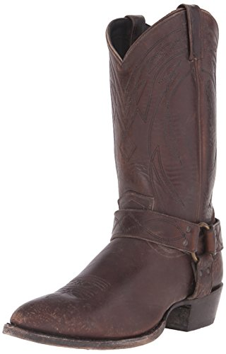 FRYE Men's Billy Harness Western Boot, Espresso, 12 M US
