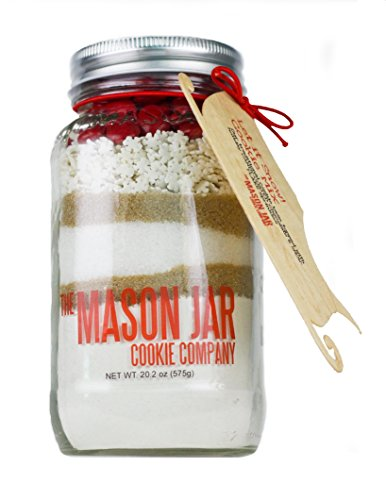 - The Mason Jar Cookie Company Cookie Mix, Let It Snow, 20.2 Ounce