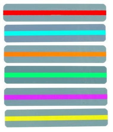 Set Colors ChefLand Strips Transparent Overlays