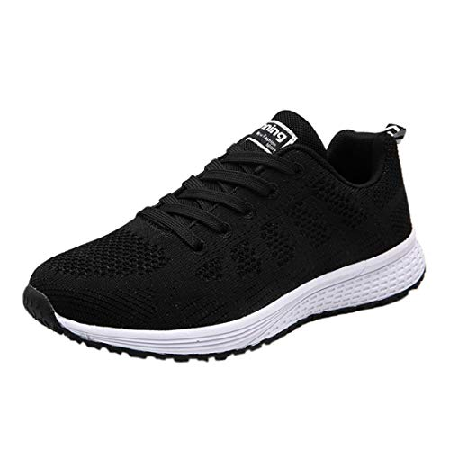 Women Gym Shoes Black Running FALAIDUO Shoes Casual Sneakers Women Sneakers Yoga Lightweight Comfortable Teen dwxqXqO