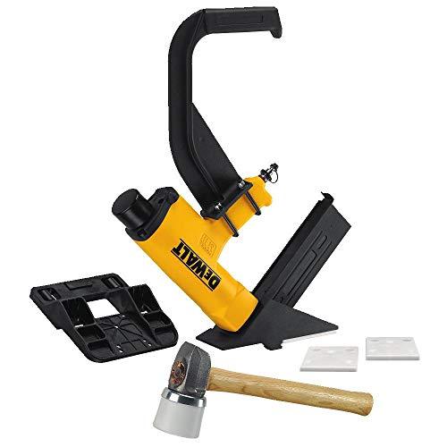 (DEWALT Pneumatic 15.5-Gauge Hardwood Flooring Stapler DWMIIIFS)