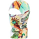 BLACKSTRAP Kids The Hood Balaclava Dual Layer Cold Weather Neck Gaiter and Warmer for Children, Finger Paint