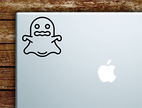 Ghost Laptop Apple Macbook Car Quote Wall Decal Sticker Art Vinyl Cute Inspirational Teen Girl Boy Cute -