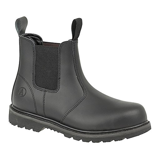 Amblers Unisex Steel FS5 Pull-On Dealer Boot / Womens Mens Boots (7 US) (Black) 0a3MAfgDL