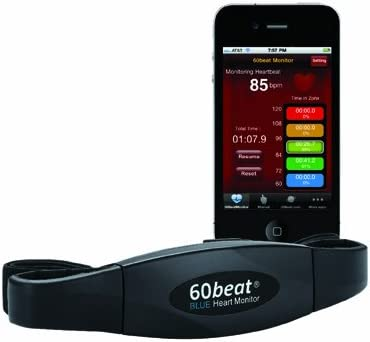 60beat Pulsómetro Compatible con iPhone y Android - Bluetooth ...