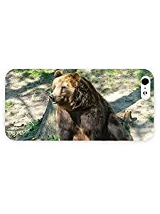 3d Full Wrap Case For Iphone 6 4.7 Inch Cover Animal Bear Chilling In The Sun