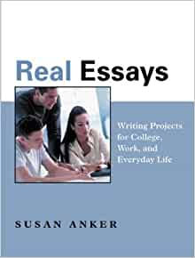 real essays susan anker 3rd Real essays interactive: a brief guide to writing essays  at the end of the rental  period details textbook rentals in 3 easy steps details icon-.
