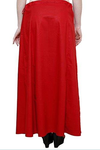 Navyata - Falda - Skort - para mujer rojo (Maroon)