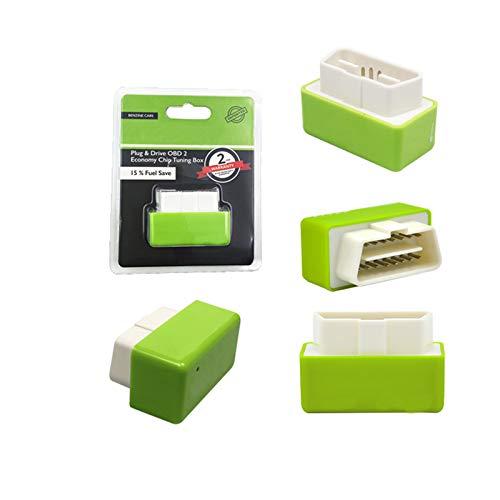Mokylor 3PACK Car Petrol Fuel Saver,EcoOBD2 Plug and Drive EcoOBD2 Chip Tuning Box,Economy Tuning Box for Economy and Lower Emission