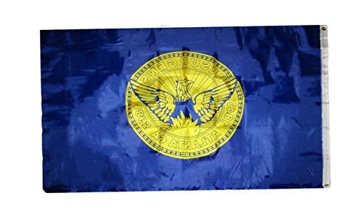 Hebel 3x5 City of Atlanta Georgia Flag 3x5 Banner Grommets | Model FLG - -