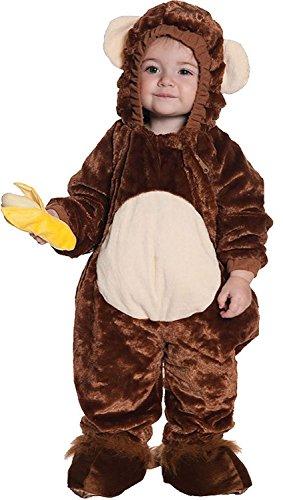 2t Monkey Costumes (Monkey Toddler Costume)