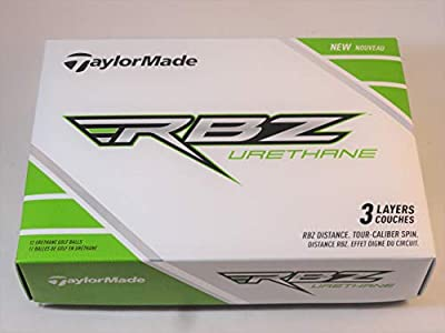 Taylormade RBZ Urethane White 3 Layers Golf Ball 2 Dozen