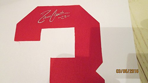 DAVE JUSTICE Signed Braves Baseball Jersey Number #3 only -Guaranteed Authentic
