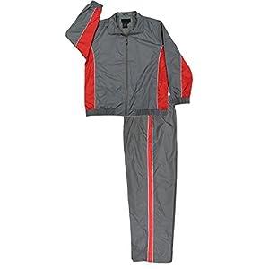 Apparel No. 5 Men's Nylon Full Zip Mesh Running Track Suit Set
